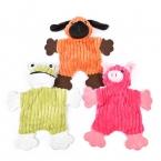 Собаки игрушки для домашних животных щенок чу пищалка скрипучий плюшевые звук чистка зубов молярная игрушки собака лягушка и свинья игрушки 3 конструкции бесплатная доставка