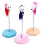 Смешно домашняя кошка игрушки весной игрушка котенок играет перо звук колокола игрушки для кошек товары для животных