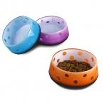 собака домашняя кошка чаша модный дизайн воды еда 3 цвета размером 12.5 * H 5 см