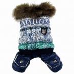 новые мода домашних собак лучший зимний комбинезон пальто одежда собак Pet супер теплый XS sml XL 2XL 3Xl 4XL малый большая собака одежда