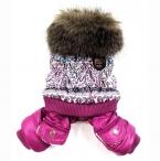 новые мода домашних собак лучший зимний Jupmsuit пальто Clothesfor домашних собак супер sml XL L собака одежда