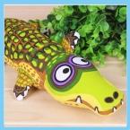 для домашних животных зажравшимся крокодил укус устойчивостью холст собака игрушки Pet говоря коренной большая игрушка мило для средней длины большой большой