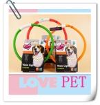 Pet ошейник игрушки мода из светодиодов нейлона Pet ошейник любой lengthNight безопасности светодиодные-up мигающий светятся в темноте