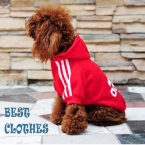 новинка собака одежда толстовки пальто со шляпой 6 цвета розовый красный желтый XS-XXL летней зимние