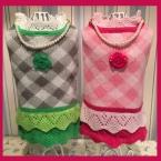 Теплая шерсть зимний леди собака одежда милый с ожерельем розового зеленые одежды для малый большая собака хорошим домашним животным одежда XL XS свитер