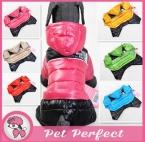 Высокое Качество Собак Одежда Для Животных На Зиму Супер Мило Шесть цвет собака Одежда Комбинезон Пальто для Маленький Средний Большой Собаки