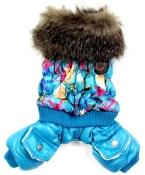 новые мода домашних собак лучший зимнее пальто комбинезон куртка для собак супер теплый XS sml XL малый большая собака одежда