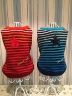 Весна осень зима собаки cCothes свитер модный рукавов симпатичные красный синий одежду для малого-среднего теплый Pet продукт
