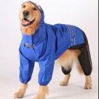 собака для животных плащ для большой большая собака пальто куртки водонепроницаемый ветрозащитный собака одежда 2XL размер кровать зима хаски