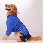 собаки плащ для средних большая собака любимая одежда ClothingCoat собака одежда 2XL размер поводок кровать