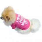 Собака Жилет Летом дешевые Домашних Собак Хлопок Одежда Рубашки Одежды abbigliamento недвижимости тростниковый качества во-первых
