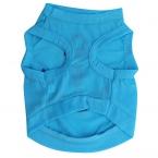 Летом одежда для животных футболка мода собака одежда одежды симпатичные голубой якорь дизайн майка