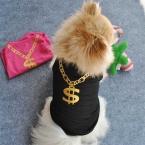 Лето Домашнее Животное Щенок Маленькая Собака собаки домашние одежда Pet Одежда Жилет Футболка Одежда ropa пункт перро качества во-первых