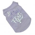 Новинка щенок летняя футболка маленькая собака кошка животное одежды жилет майка качество первых