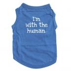 Собака жилет дешевую одежду летней одежды футболке футболку залить цзянь