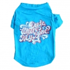 лето одежда для собак рубашка одежда жилет дешевые жилет залить цзянь качества во-первых