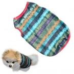 Газа Pet Футболка летняя одежда для собак рубашка одежда жилет дешевые жилет залить цзянь качества во-первых