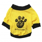 Следы жилет майка одежда Pet лето дешевые одежды собаки футболку залить цзянь для маленьких собак качество первых