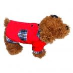 Хлопок пес любимая футболка собаки одежда рубашка мило комбинезон четыре ноги одежда для домашних животных