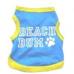 Лето собаку жилет дешевые одежда для собак футболка tee shirt залить chien собака рубашки Качества Во-Первых