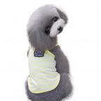 Домашних Собак Досуг Широкие Полосы Футболки Doggy Одежда Вышивка Дышащий Жилет домашних животных одежда IUT6519