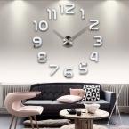 новый часы часы настенные часы horloge 3d diy акриловое зеркало Наклейки Украшения Дома Гостиная Кварцевые Иглы бесплатная доставка