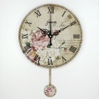 дюймовый старинные декоративные настенные часы абсолютно бесшумно кварцевые часы на стене украшения гостиной часов настенных часы настенные круглые часы настенные будильник старинные для гостиной украшения