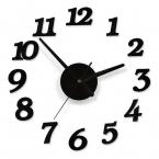 45 X 45 см качество акриловая кристалл красивые поделки сочетание часы цифровой настенные часы краткое успокоить лучший украшение дома подарок