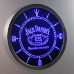 Nc0477 Jack daniel Виски Неоновый Знак LED Настенные Часы (a048-б дизайн)
