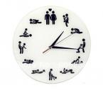 Бесплатная Доставка 1 Шт Секс Статус Часы/24 Часа Секс Часы/Новинка Настенные Часы