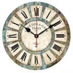 Качество первый европейский стиль старинные творческий круглый настенные часы кварцевые часы