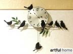 A020 стена часы сейф домашнее украшение декор один часы живопись часы morden дизайн птицы уникальный подарок ремесло