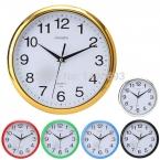 новый большой урожай круглый современный главная спальня ретро время кухня настенные часы кварцевые с шести цветов