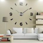 новый урожай настенные часы современный дизайн большой Diy акриловые часы Horloge Murale кварцевые часы 3d наклейки кратко гостиной