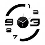 настоящее новый ограниченной срок годности бесплатная доставка мода сделай сам акрил настенные часы современная роскошь зеркало часы 3d кристалл часы