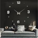 новый настенные часы часы Horloge Murale Diy 3d акриловые зеркало большой дом кварцевые круговые спицы современный бесплатная доставка