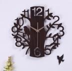 070341 искусство 14 дюймов приглушен моды минималистский гостиная деревянные настенные часы персонализированные украшения дома