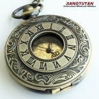 Мужчины винтаж карманные часы ретро старинные часы с цепочкой ожерелье роман стимпанк подарок для него годовщина свадьбы дружки
