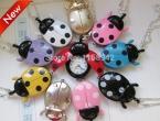 1 шт. бесплатная доставка жук ожерелье карманные подвеска часы за детьми девушка часы мода