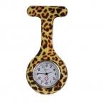 Карманные часы Силиконовые Нержавеющей Круглый Циферблат Кварцевые Фоб Кварцевые Медсестра Часы Feida