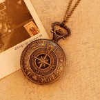 древний рим компас аналога кварца старинные антикварные карта карманные часы мужские женщины горячая подарков relogio