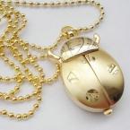 Божья коровка винтаж кварц животных кулон женщин мужские карманные часы подарок FOB продвижение часы