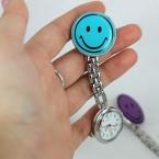 новинка мило медсестра портативный белый улыбающееся лицо любовь бабочка дизайн карманные часы женщины