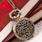 Горячая Montre карманные часы женщины мужская винтаж ретро кварцевые - часы мужчины мода сеть ожерелье подвеска брелок часы Reloj