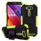 Высокое качество 5.0 дюймов мобильного телефона тпу   PC защитная крышка гибридный подставка чехол с подставка для ASUS Zenfone 2 лазерная ZE500KL
