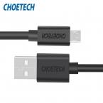 [Оригинальный Кабель Micro Usb] CHOETECH 5 В 2.4A Micro USB 2.0 Зарядка Данных Длина Кабеля 3.3ft/1.0 м для Смартфонов и Таблетки-Черный