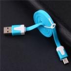 Мобильный телефон кабели, зарядки и синхронизации плоским лапша micro usb кабель для android samsung htc huawei lenovo 1 м