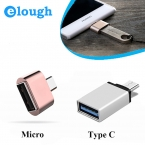 Обнять ELOUGH Забавных мини Micro USB 2.0 OTG Конвертер Камеры Tablet MP3 Тип кабеля с OTG для Samsung Galaxy S3 S4 Sony LG OTG кабель