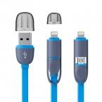 Высокое Качество 8pin 2 в 1 Кабель Micro Usb Синхронизация Данных Зарядное Устройство кабель Для iPhone 5 6 6 S Plus Samsung S3 S4 S5 Android телефон
