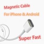Супер Быстрый 2.4A Магнитно-Кабель Кабель Micro Usb для iPhone 6 6 s Плюс 5S 5c Данных Зарядный Кабель Для Samsung s7 note5/HTC/ZTE/LG